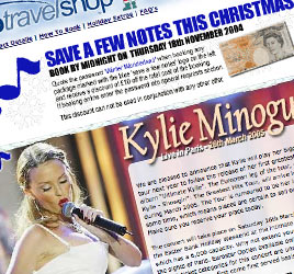 Radio Travel Shop Xmas offers